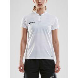 Craft Pro Control Shirt Korte Mouw Dames - Wit