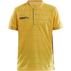 Craft Pro Control Shirt Korte Mouw Kinderen - Geel