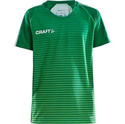 Craft Pro Control Stripe Shirt Korte Mouw Kinderen - Groen