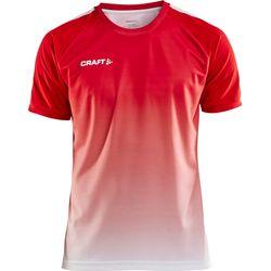 Craft Pro Control Fade Shirt Korte Mouw Heren - Rood