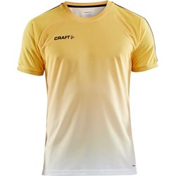Craft Pro Control Fade Shirt Korte Mouw Heren - Geel