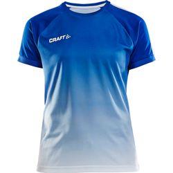 Craft Pro Control Fade Shirt Korte Mouw Dames - Royal