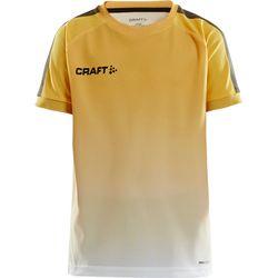 Craft Pro Control Fade Shirt Korte Mouw Kinderen - Geel