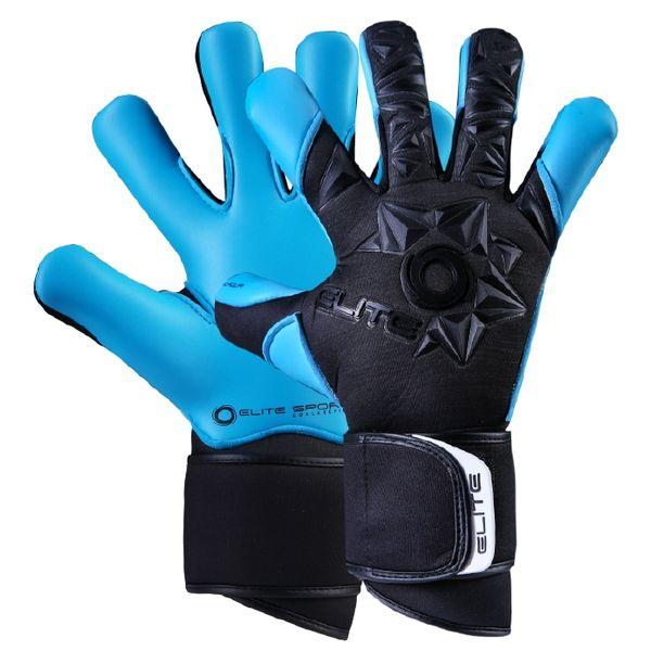 Elite Sport Neo Aqua Keepershandschoenen Heren - Zwart / Aqua