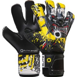 Elite Sport Hunter MD Gants De Gardien Enfants - Noir / Jaune