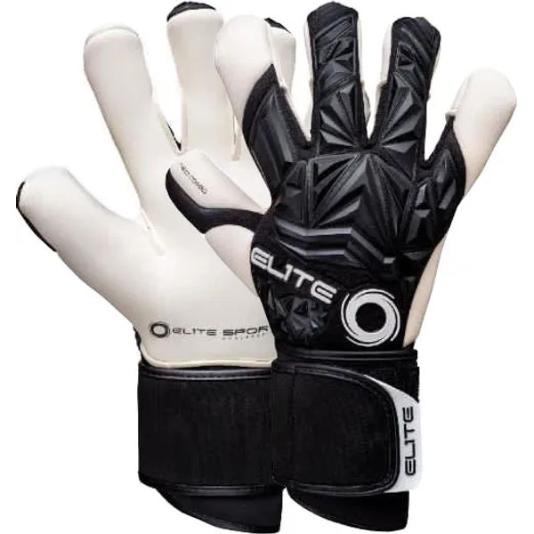 Elite Sport Neo Combi Black Keepershandschoenen Heren - Zwart / Wit