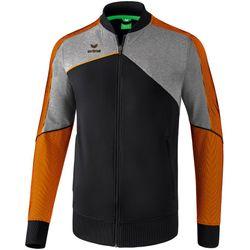 Erima Premium One 2.0 Trainingsvest - Zwart / Grey Melange / Neon Oranje