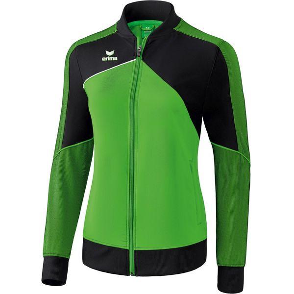 Erima Premium One 2.0 Trainingsvest Dames - Green / Zwart / Wit
