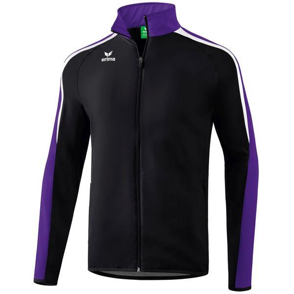 Erima Liga 2.0 Trainingsvest - Zwart / Donker Violet / Wit