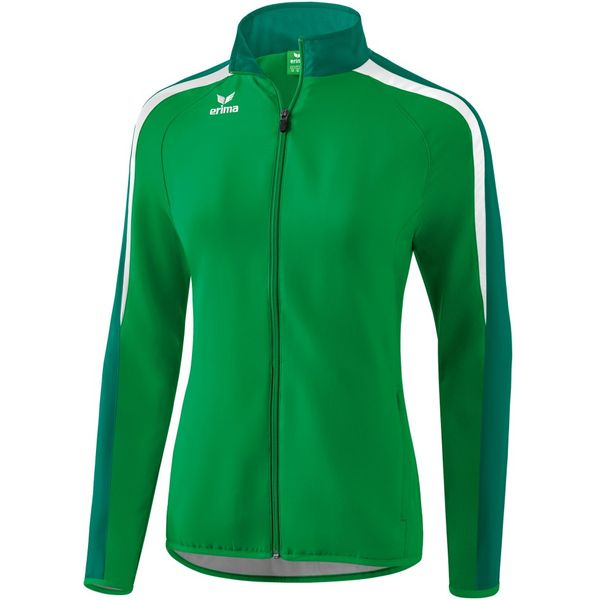 Erima Liga 2.0 Trainingsvest Dames - Smaragd / Evergreen / Wit