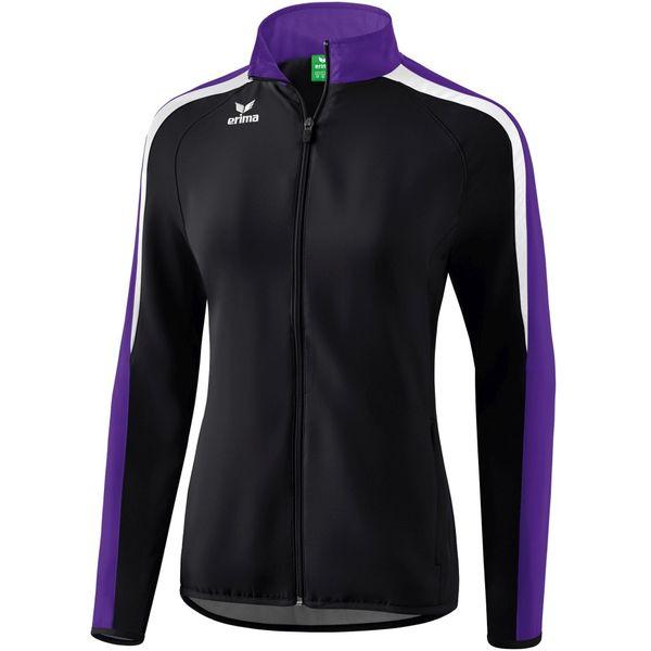 Erima Liga 2.0 Trainingsvest Dames - Zwart / Donker Violet / Wit