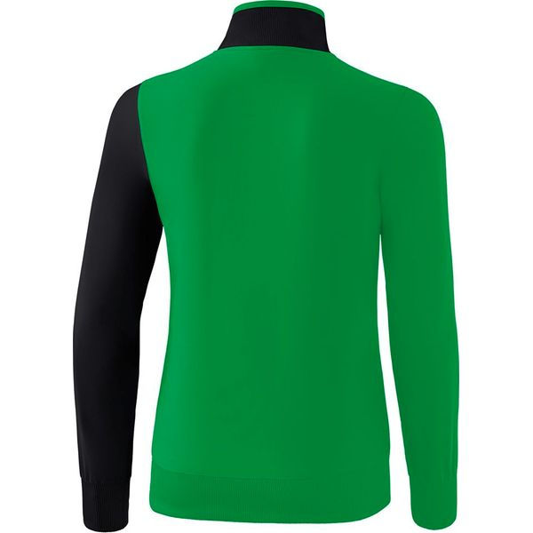 Erima 5-C Trainingsvest Dames - Smaragd / Zwart / Wit