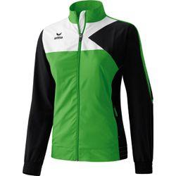 Erima Premium One Presentatiejack Dames - Green / Zwart / Wit