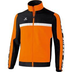 Erima 5-Cubes Trainingsvest - Oranje / Zwart / Wit