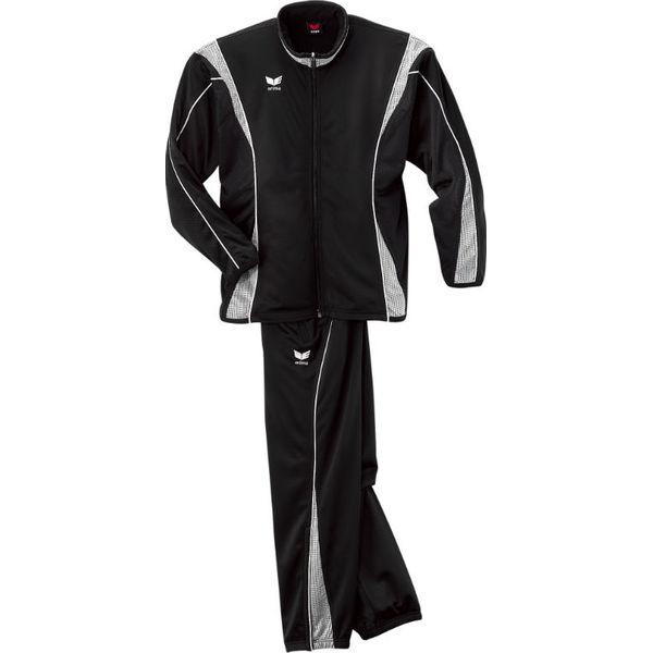 Erima Xetra Survêtement Polyester Hommes - Noir / Argent / Blanc