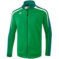 Erima Liga 2.0 Trainingsjack Heren - Smaragd / Evergreen / Wit