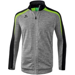 Erima Liga 2.0 Trainingsjack Kinderen - Grey Melange / Zwart / Green Gecko