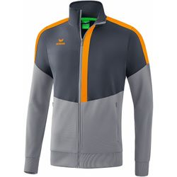 Erima Squad Veste Worker Hommes - Slate Grey / Monument Grey / New Orange