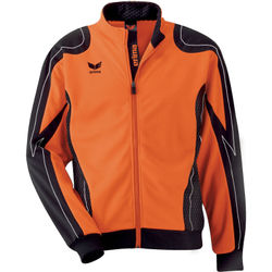 Erima Racing Sweat D'entraînement 1/2 Zip Hommes - Orange / Noir