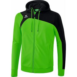 Erima Club 1900 2.0 Trainingsjack Met Capuchon - Green / Zwart
