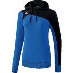 Erima Club 1900 2.0 Sweatshirt Met Capuchon Dames - New Royal / Zwart