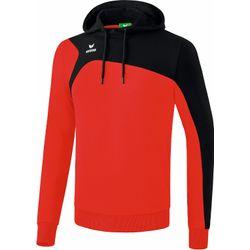 Erima Club 1900 2.0 Sweatshirt Met Capuchon Heren - Rood / Zwart