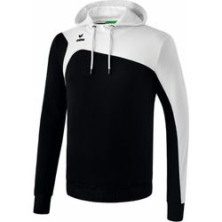 Erima Club 1900 2.0 Sweatshirt Met Capuchon Heren - Zwart / Wit