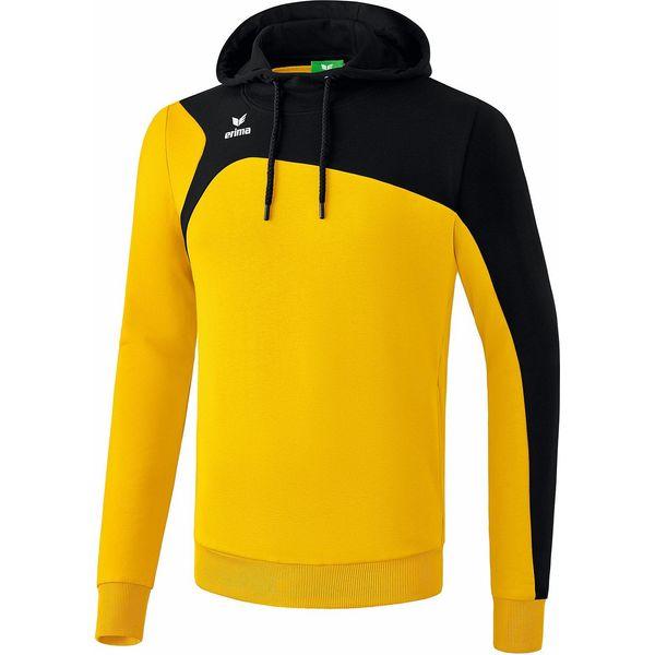 Erima Club 1900 2.0 Sweatshirt Met Capuchon Heren - Geel / Zwart