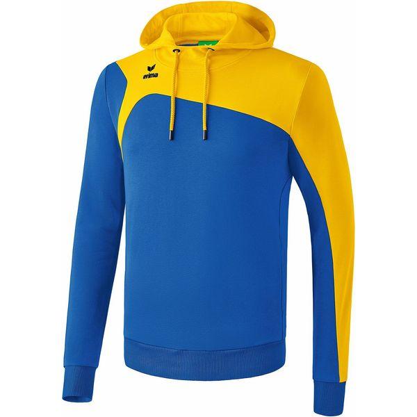 Erima Club 1900 2.0 Sweatshirt Met Capuchon Heren - New Royal / Geel