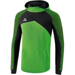 Erima Premium One 2.0 Sweatshirt Met Capuchon Kinderen - Green / Zwart / Wit