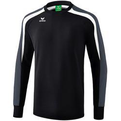 Erima Liga 2.0 Sweatshirt Heren - Zwart / Wit / Donkergrijs