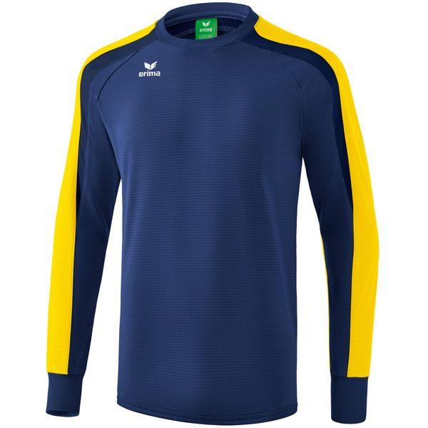 Erima Liga 2.0 Sweatshirt Kinderen - New Navy / Geel / Donker Navy