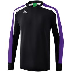 Erima Liga 2.0 Sweatshirt - Zwart / Donker Violet / Wit