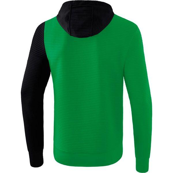 Erima 5-C Sweatshirt Met Capuchon Kinderen - Smaragd / Zwart / Wit