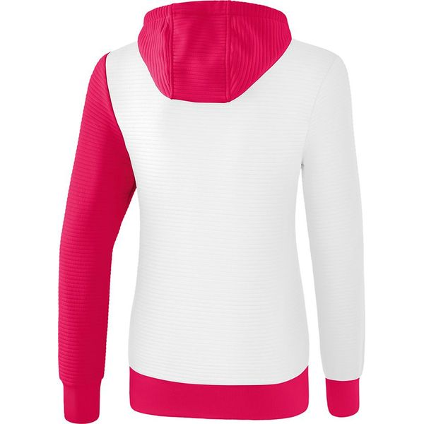 Erima 5-C Sweatshirt Met Capuchon Dames - Wit / Love Rose / Peach