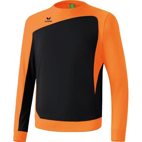 Erima Club 1900 Sweat D'entraînement Hommes - Orange / Noir