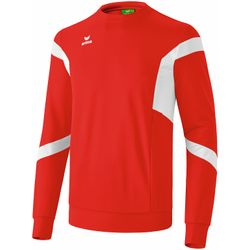 Erima Classic Team Sweatshirt Kinderen - Rood / Wit