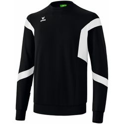Erima Classic Team Sweatshirt Heren - Zwart / Wit
