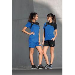 Voorvertoning: Erima Club 1900 2.0 T-Shirt Dames - New Royal / Zwart