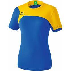 Erima Club 1900 2.0 T-Shirt Femmes - New Royal / Jaune