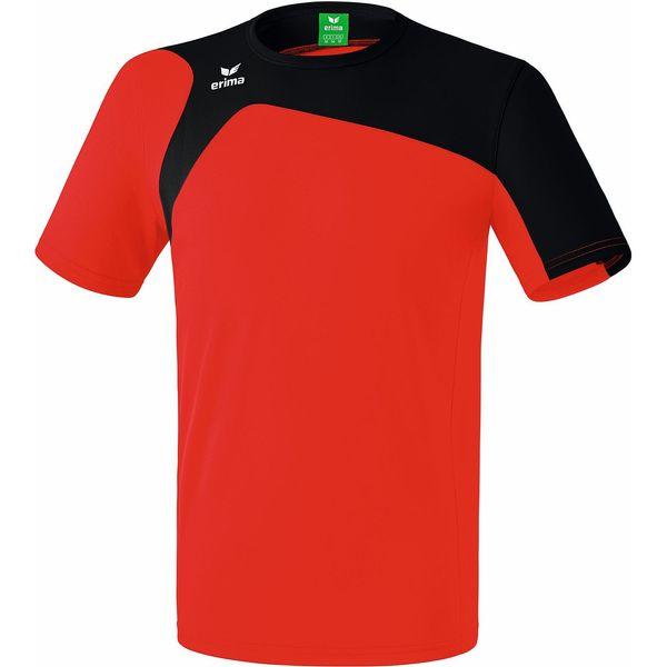 Erima Club 1900 2.0 T-Shirt Kinderen - Rood / Zwart