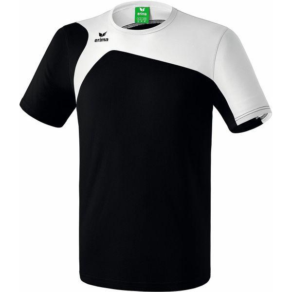 Erima Club 1900 2.0 T-Shirt Kinderen - Zwart / Wit