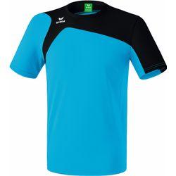 Erima Club 1900 2.0 T-Shirt Kinderen - Curaçao / Zwart