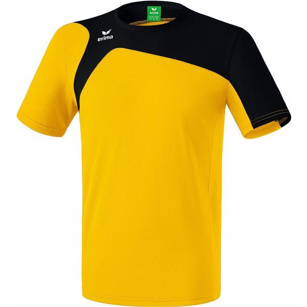 Erima Club 1900 2.0 T-Shirt Kinderen - Geel / Zwart