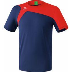 Erima Club 1900 2.0 T-Shirt Kinderen - New Navy / Rood