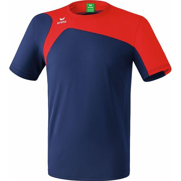 Erima Club 1900 2.0 T-Shirt Heren - New Navy / Rood