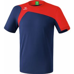 Erima Club 1900 2.0 T-Shirt - New Navy / Rood