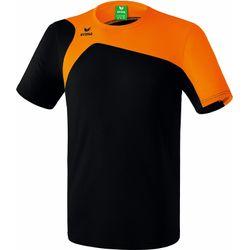 Erima Club 1900 2.0 T-Shirt Kinderen - Zwart / Oranje