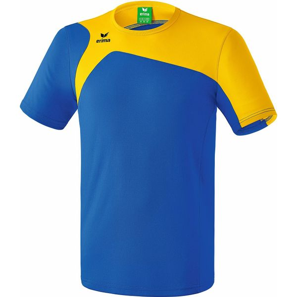 Erima Club 1900 2.0 T-Shirt Kinderen - New Royal / Geel