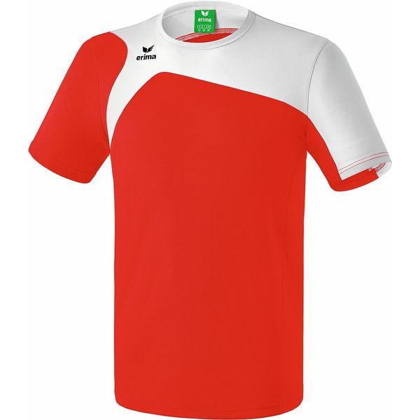 Erima Club 1900 2.0 T-Shirt Kinderen - Rood / Wit